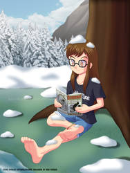 Chillin in the Snow (Commissioned by Agu-Fungus)