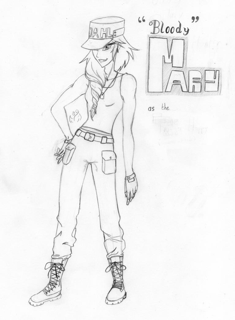 Bloody Mary, ex-Dahl soldier by Almarane