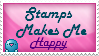 Stamps makes me happy by Koolaidislifetome