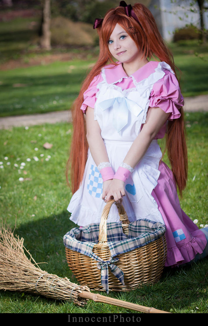 Nyotalia female England 2P - Lil' picnic by SharyNyanko