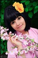 Nyotalia female Japan - Cherry blossom scent by SharyNyanko