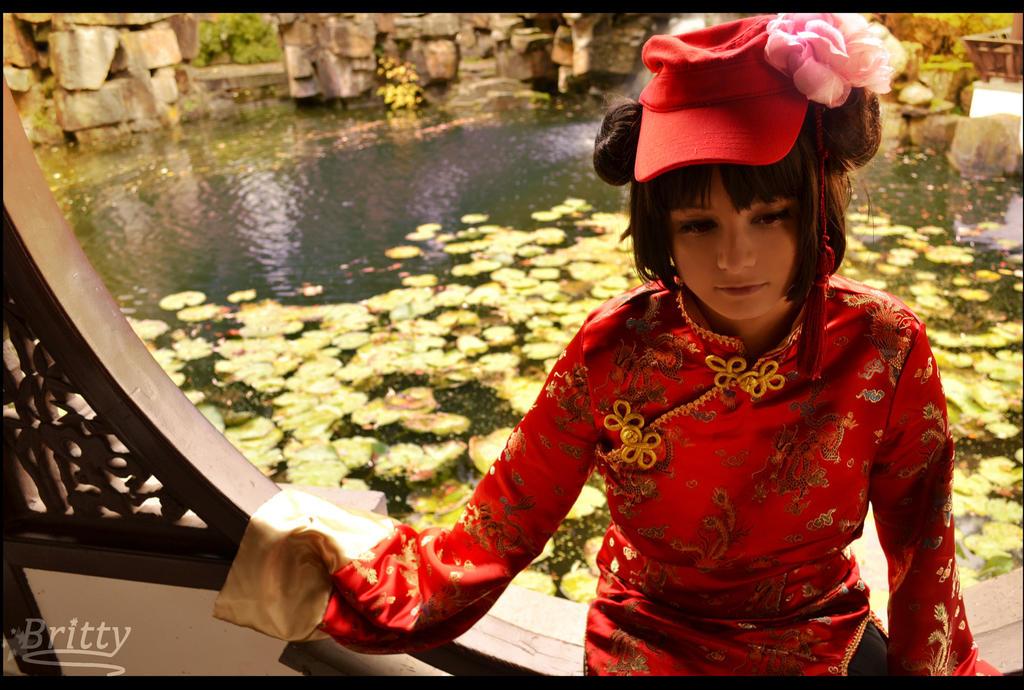 Nyotalia female China 2P - Sadness by SharyNyanko