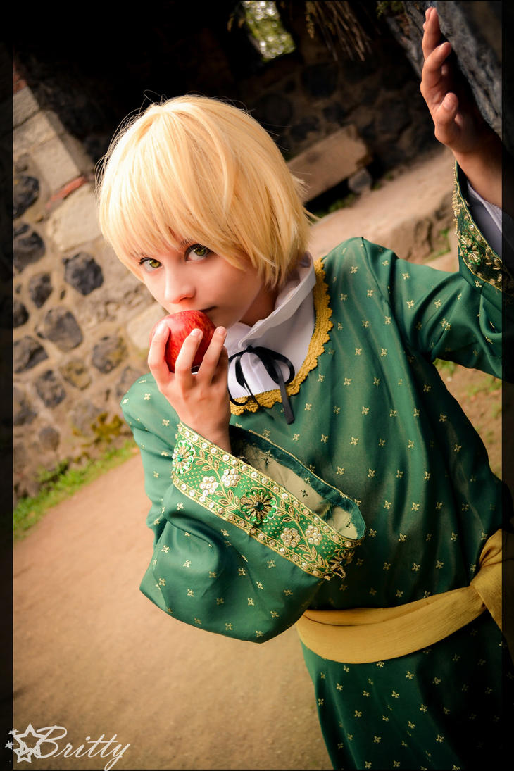 Hetalia Child England - Tunic by SharyNyanko