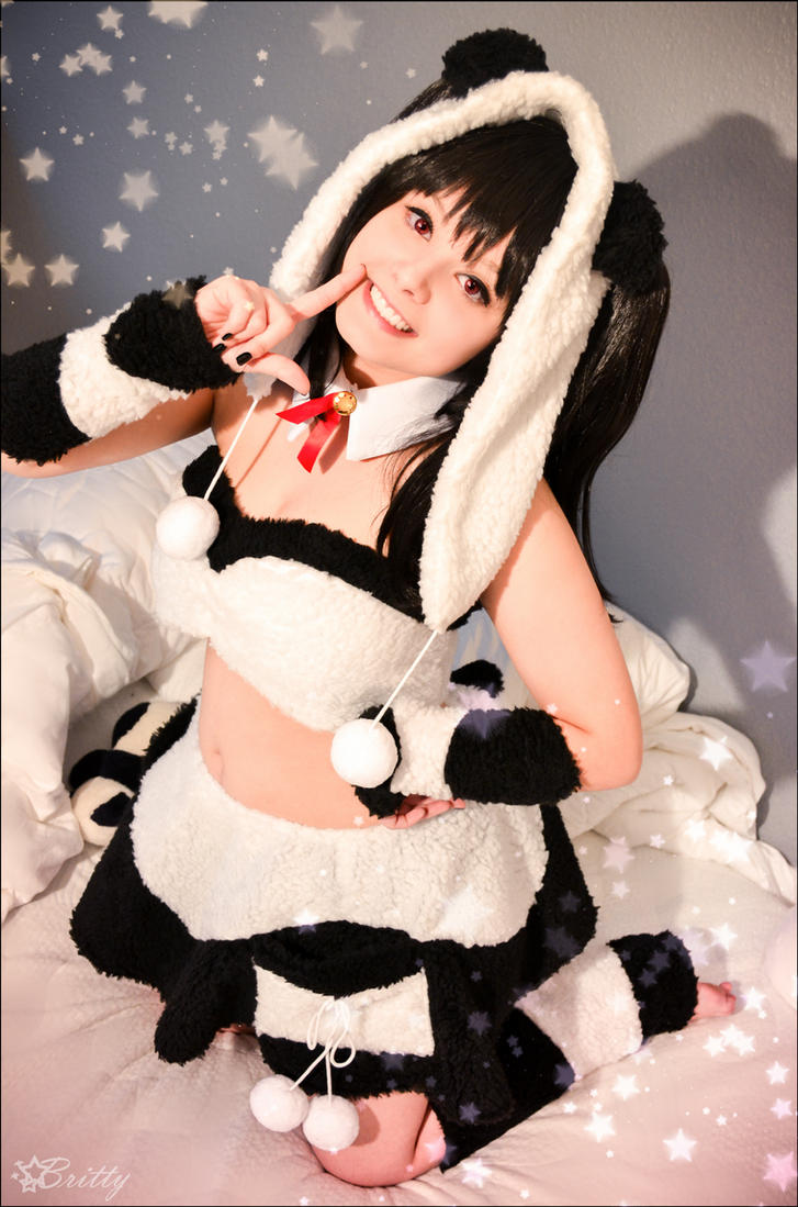 Love Live! Nico Yazawa Panda by SharyNyanko