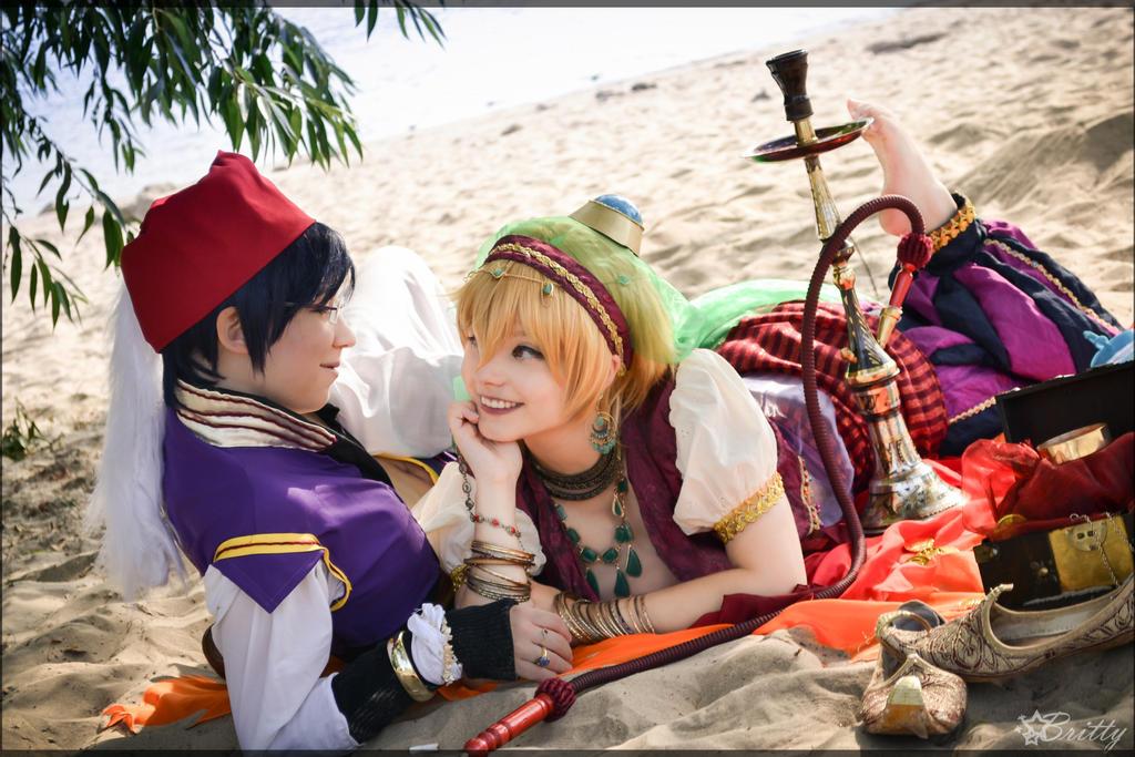 Free! Rei and Nagisa (Oriental) by SharyNyanko