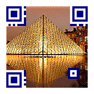 Pyramid Picture Qr Code by meftc