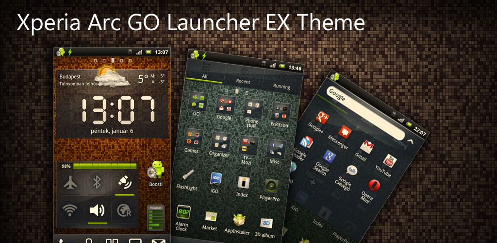 Темы Для Андроид Go Launcher Ex