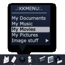 KKmenu dock icon by ethsza