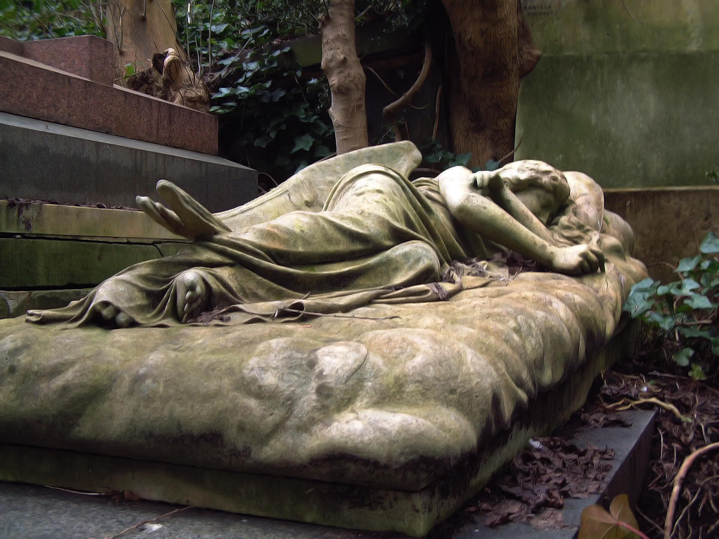 Highgate Cemetery 13 by LadyxBoleyn
