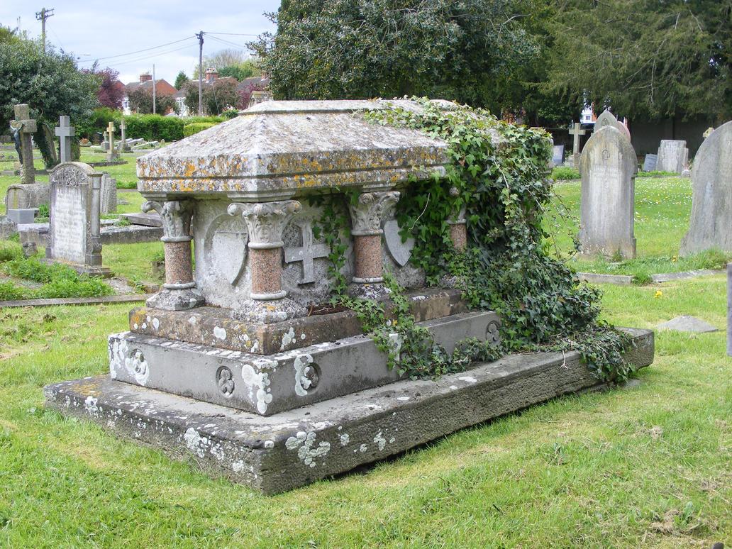 Trowbridge Graveyard 18 by LadyxBoleyn