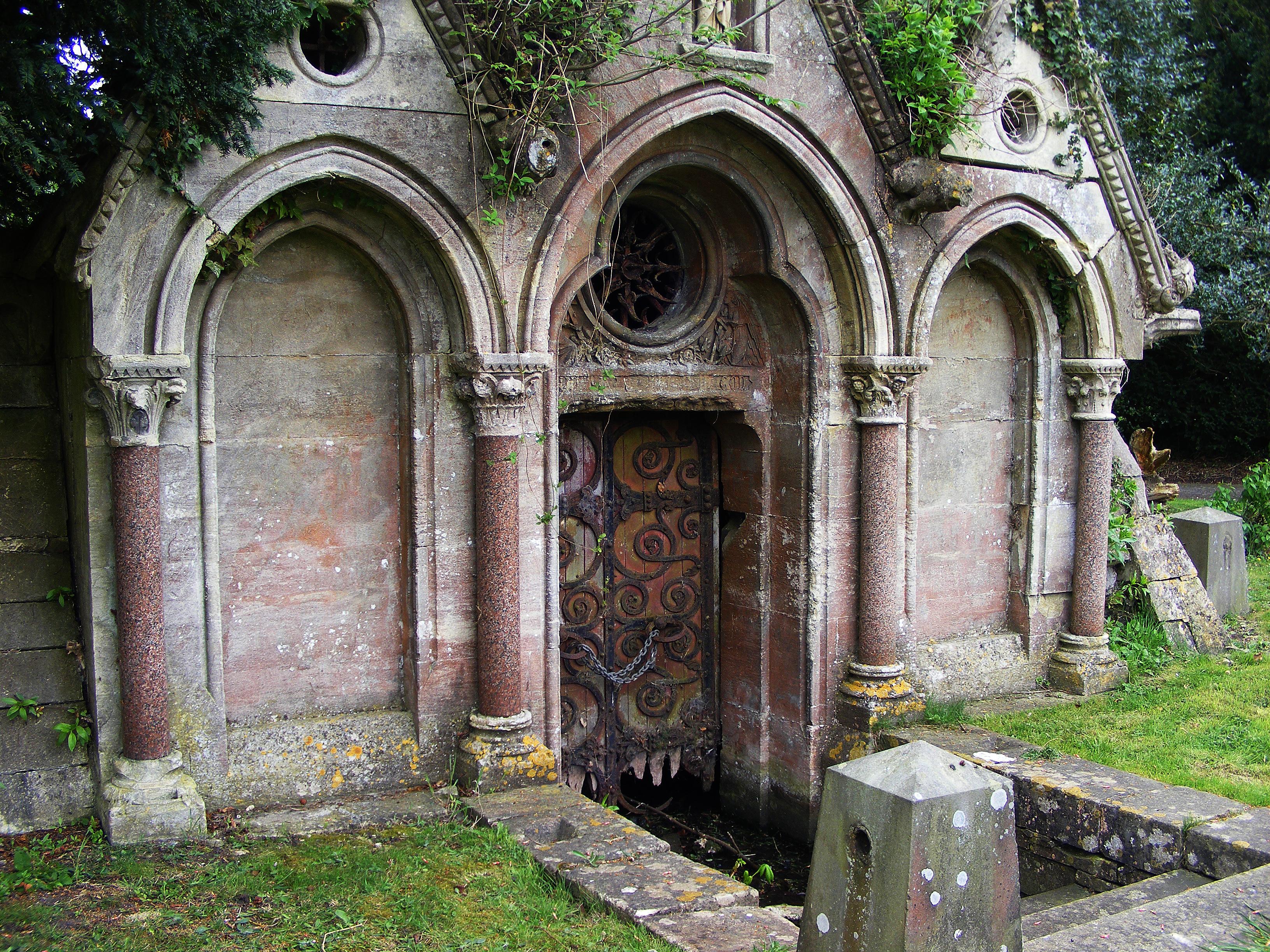 Trowbridge Graveyard 20 by LadyxBoleyn