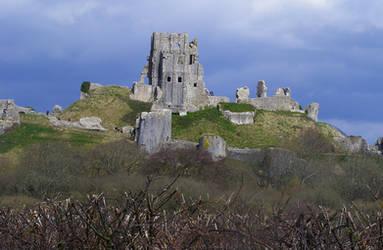 Corfe Castle 38 by LadyxBoleyn
