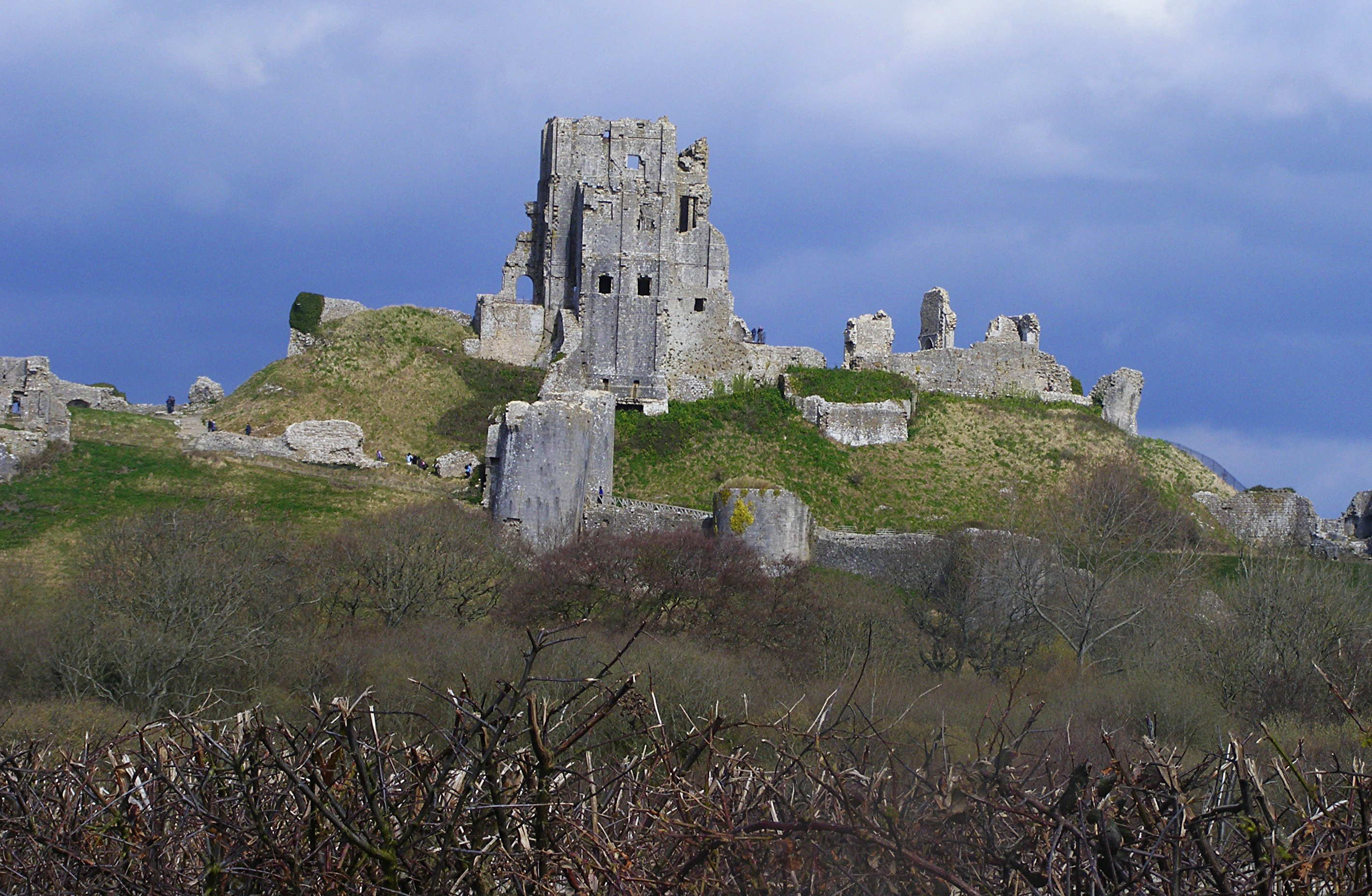 Corfe Castle 38 by LadyxBoleyn