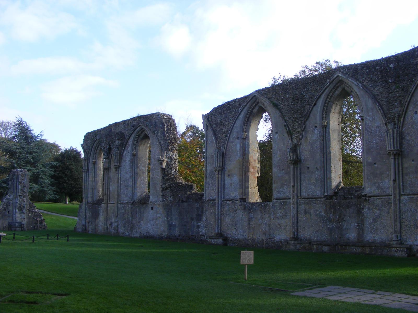 Glastonbury Abbey 6 by LadyxBoleyn