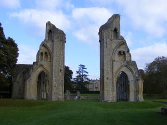 Glastonbury Abbey 63 by LadyxBoleyn