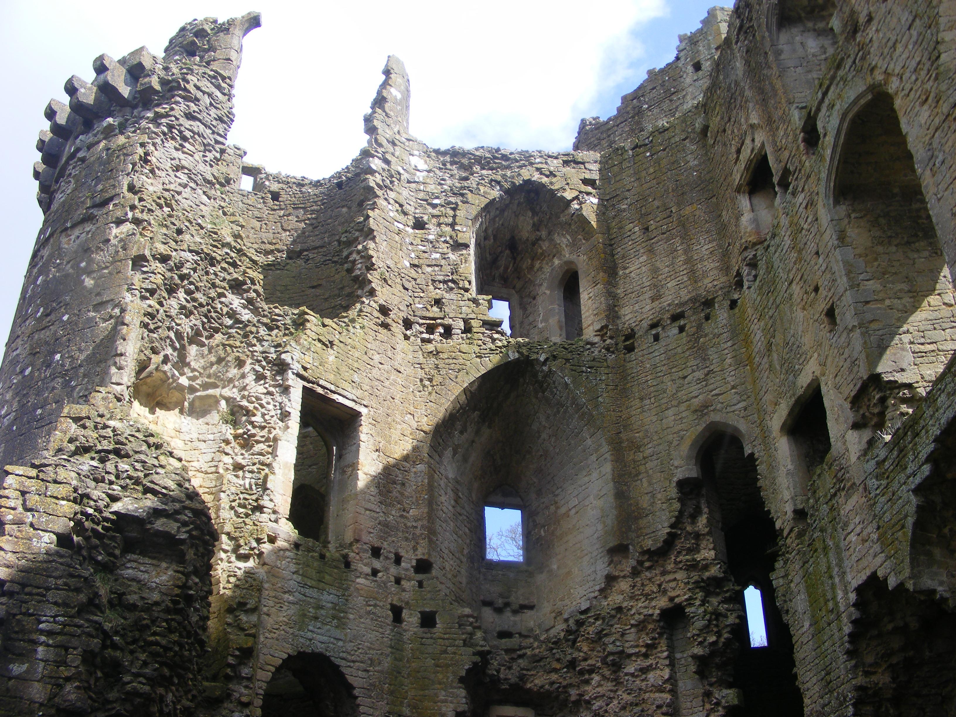 Nunney Castle April 6 by LadyxBoleyn