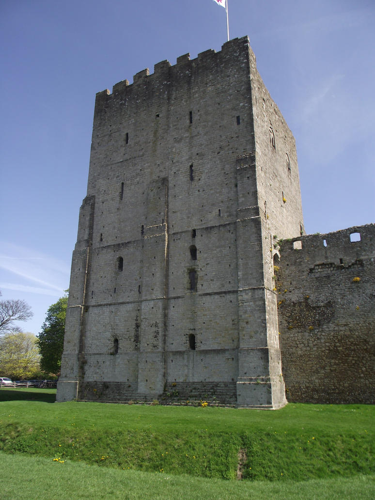 Portchester Castle 85 by LadyxBoleyn