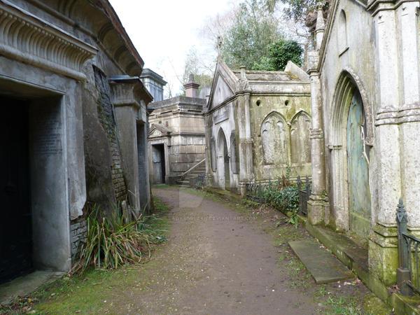 Highgate Cemetery 2012 38 by LadyxBoleyn