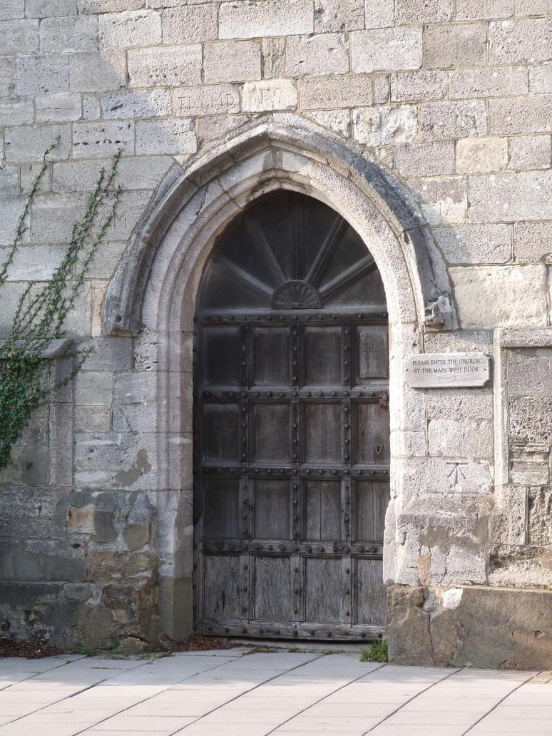 St Thomas Church Door by LadyxBoleyn