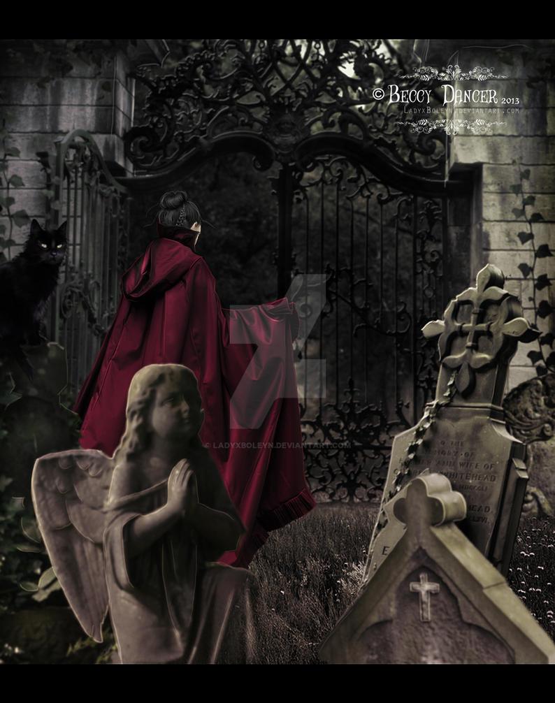 Cemetery Guardian by LadyxBoleyn