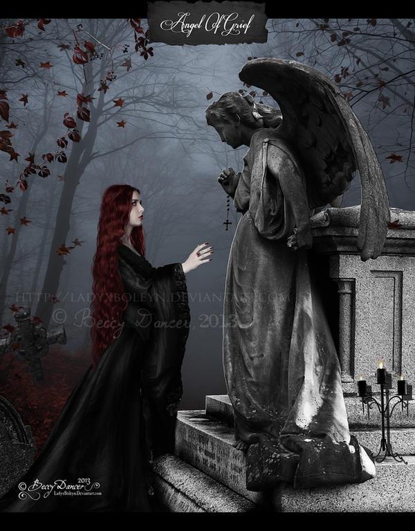Angel Of Grief by LadyxBoleyn