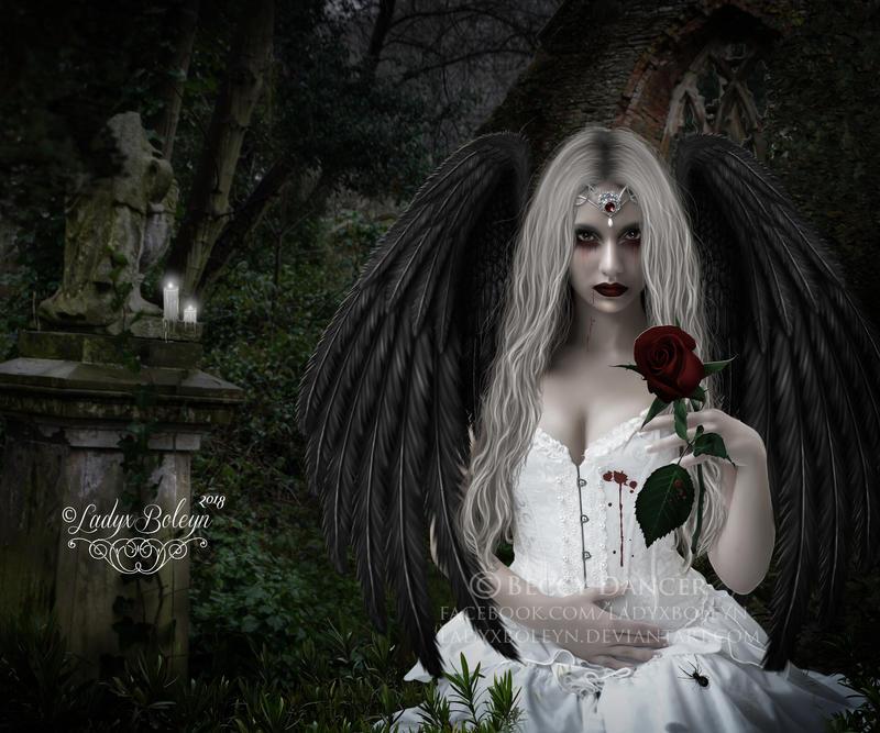 Fallen Angel by LadyxBoleyn
