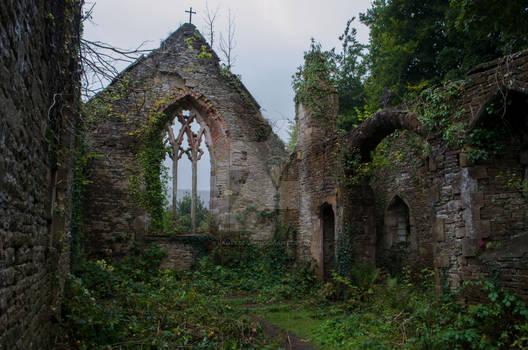 Church Ruin - Premium Stock 59
