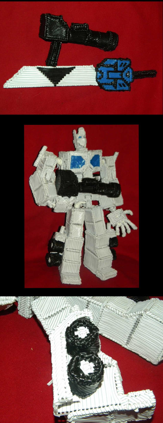 Optimus prime 2nd pose by Keith60153