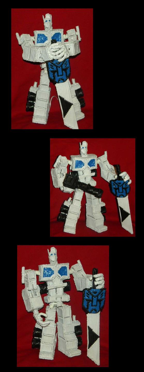 Optimus Prime 3rd pose by Keith60153