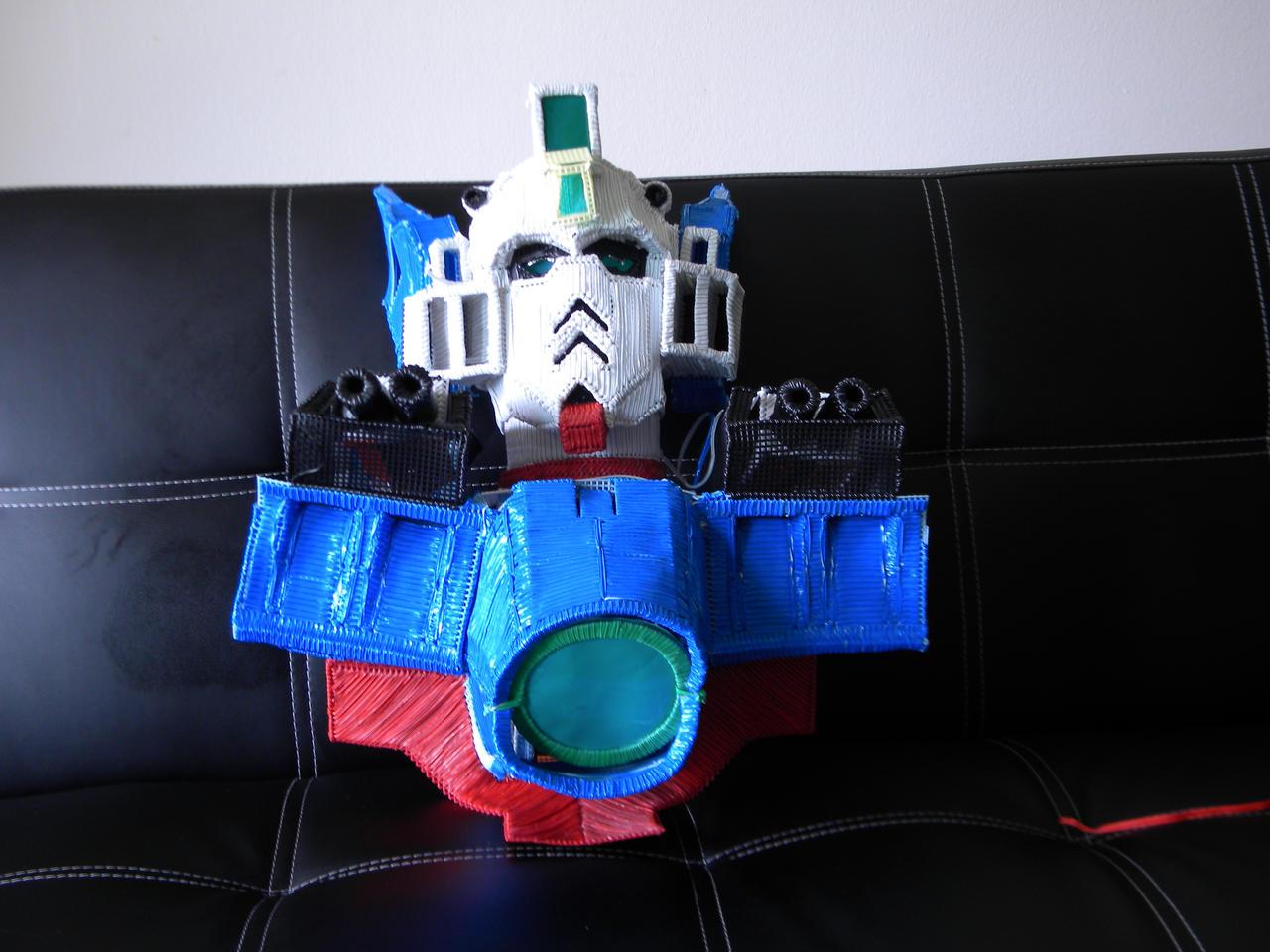 Gundam Wing Zero in progress.. by Keith60153