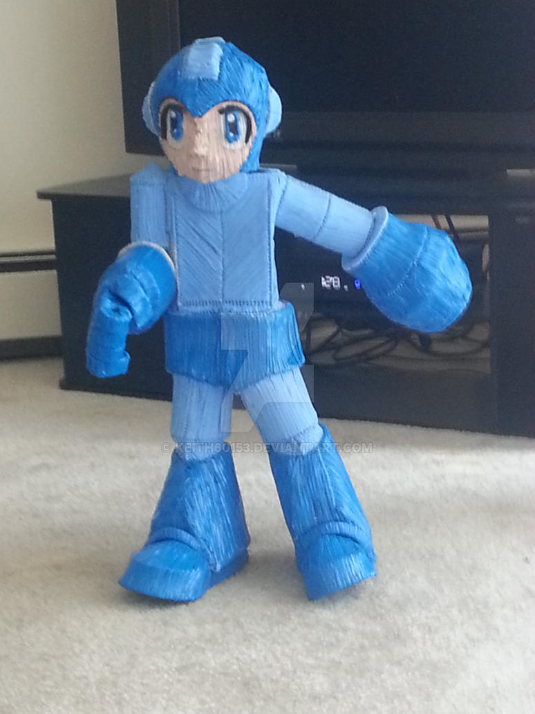 Twist tie Megaman by Keith60153