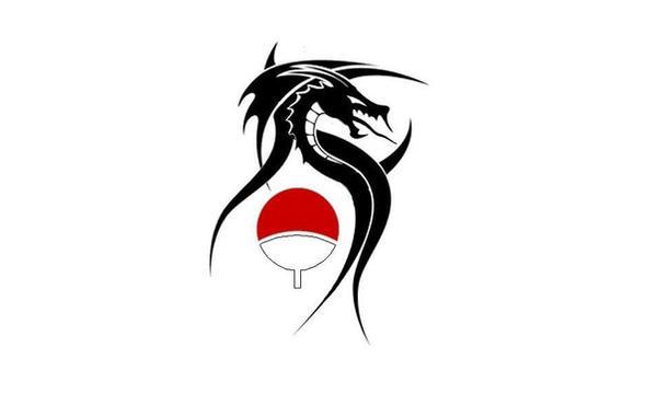uchiha symbol tattoo - photo #26