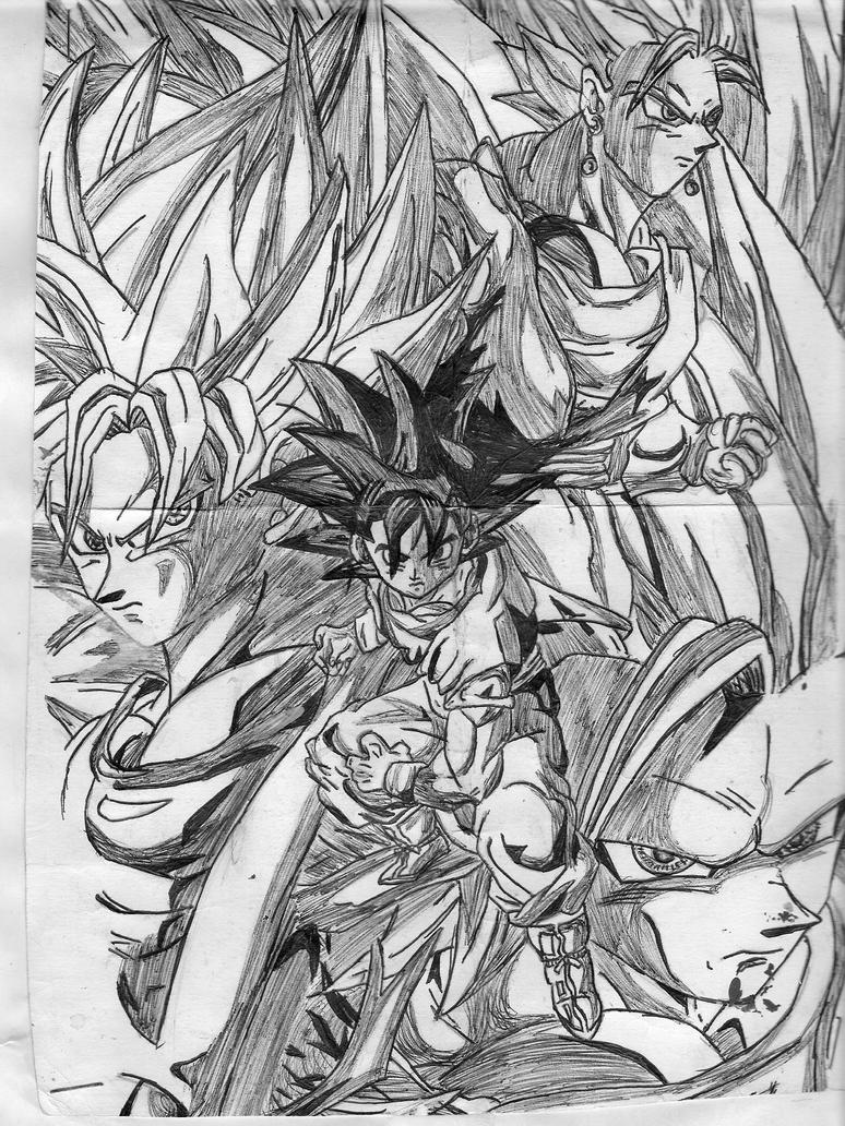 todos mis dibujos de anime!!