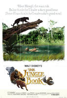 The Jungle Book 2016 poster (1967 Version) by mintmovi3