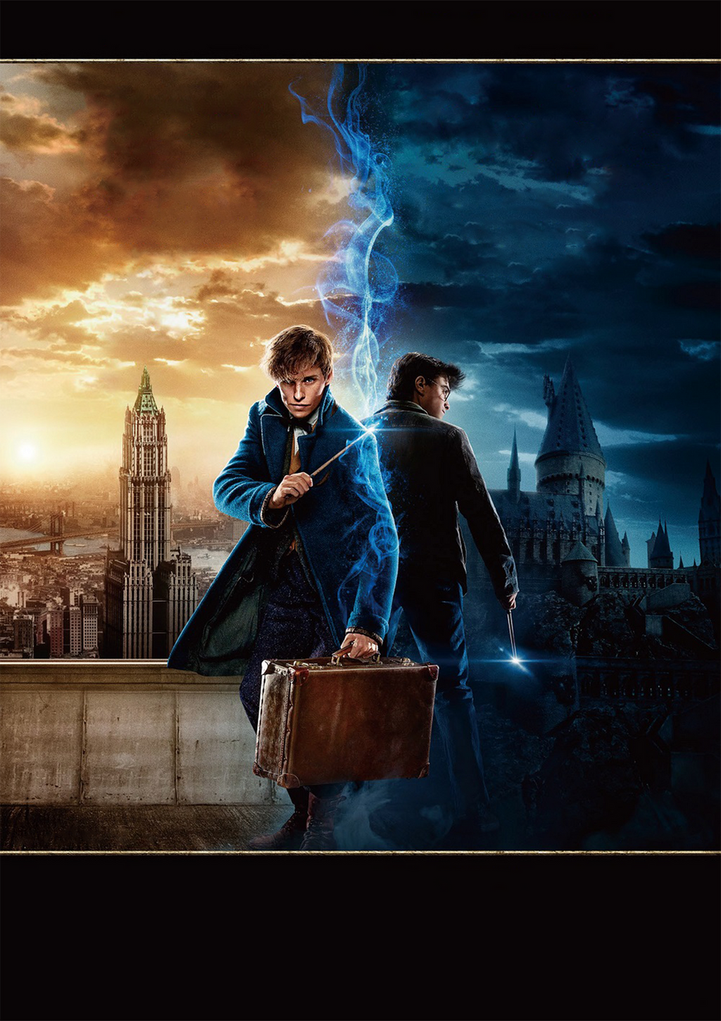 HARRY POTTER and Fantastic Beasts 4DX textless