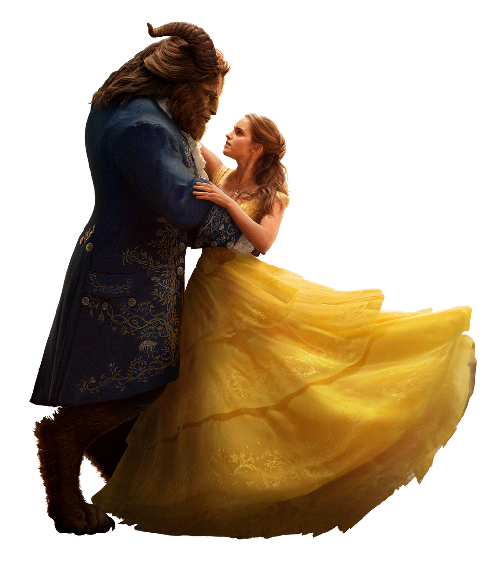 Beauty And The Beast 2017 Belle And Beast Png By Mintmovi3 On Deviantart