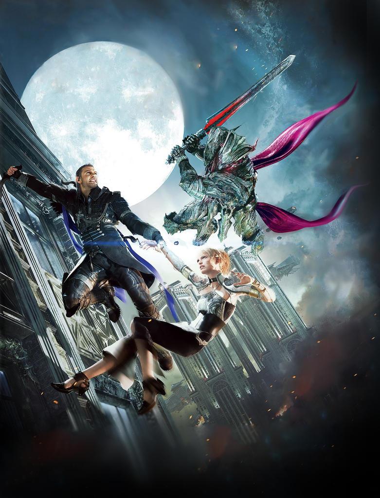 Kingsglaive Final Fantasy XV Steelbook Textless By Mintmovi3