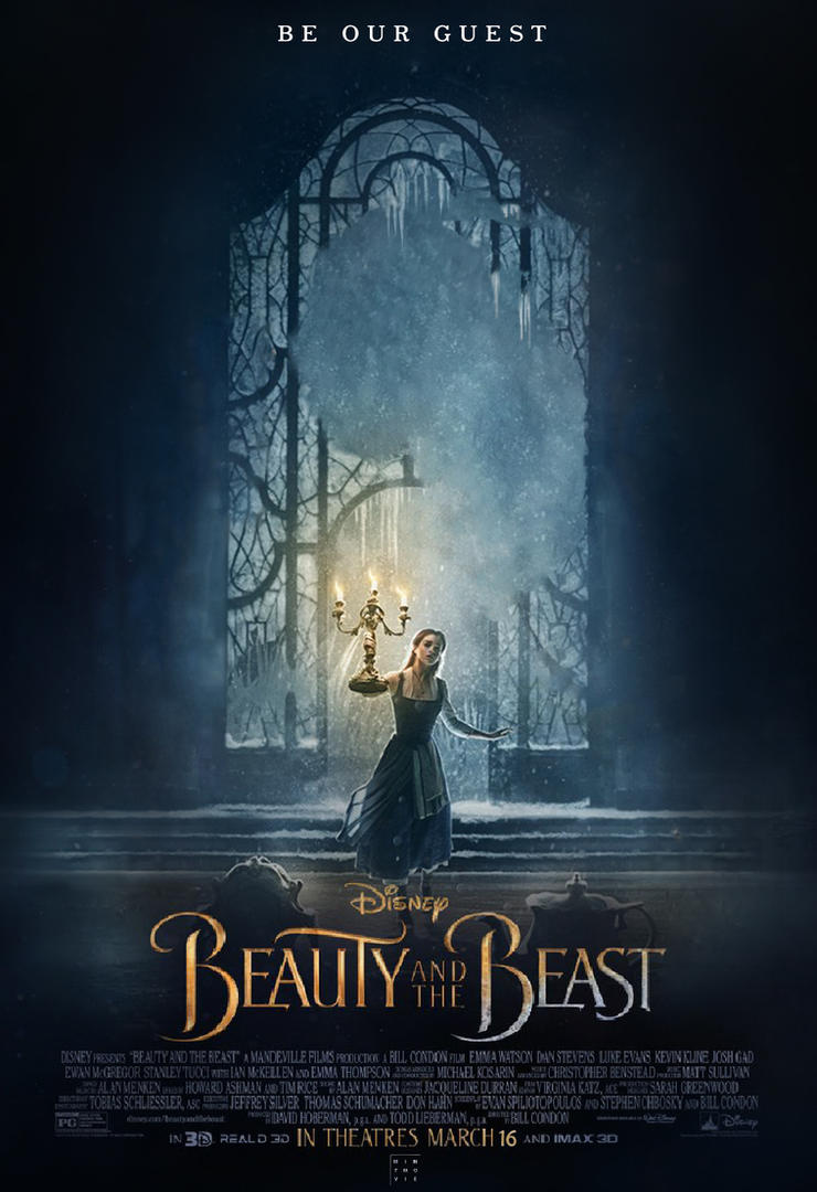 Beauty And The Beast Poster By Mintmovi3 On Deviantart