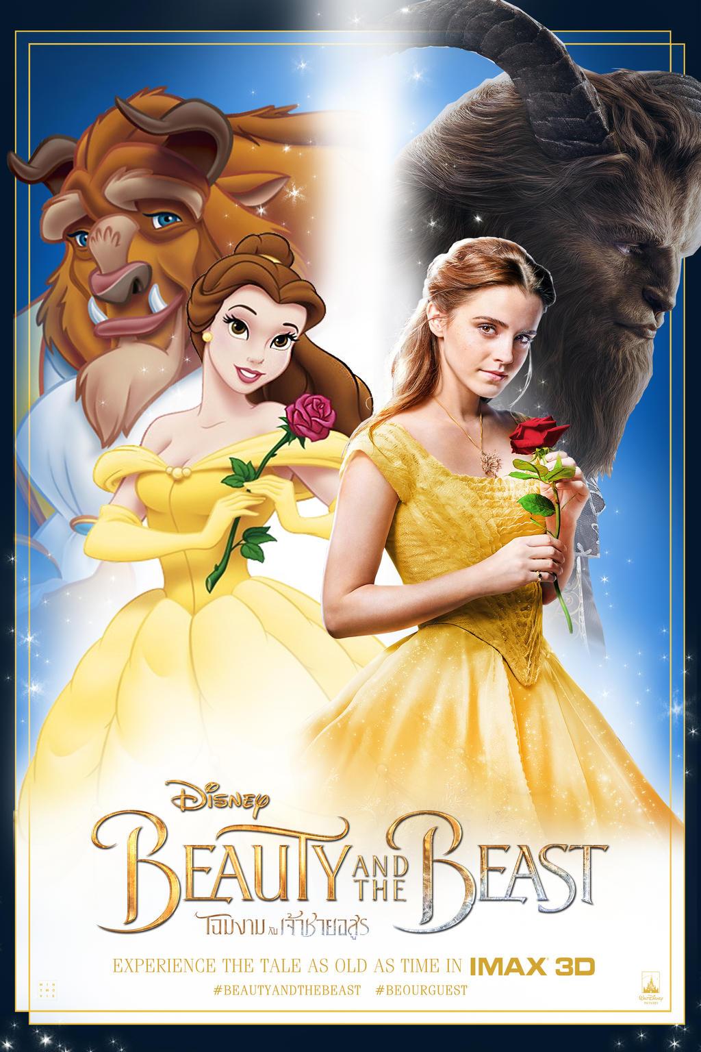 Beauty And The Beast 1991 2017 By Mintmovi3 On Deviantart