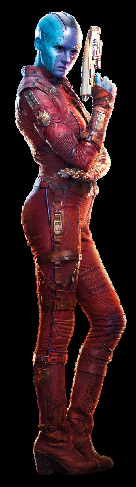 Guardians Of The Galaxy vol.2 | Nebula png. by mintmovi3