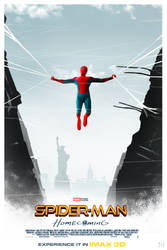 Spider-Man : Homecoming  poster by mintmovi3