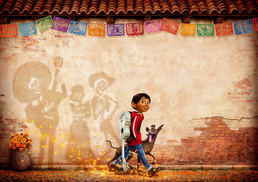 Coco International Poster Textless PixarCoco By Mintmovi3