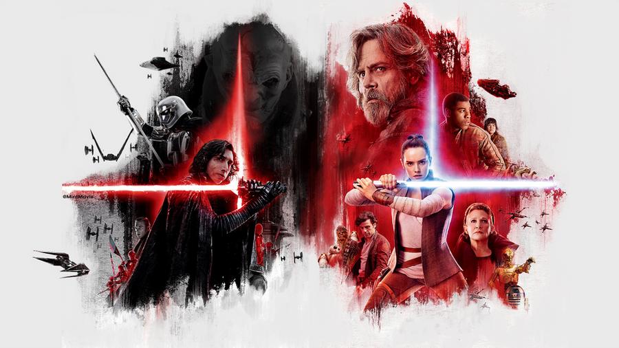 Star Wars The Last Jedi Desktop Wallpaper: DarK - Light Wallpaper By