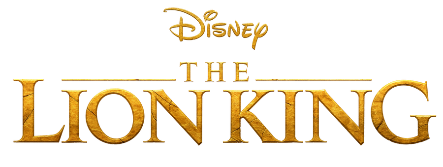 The Lion King (2019) | logo png by mintmovi3 on DeviantArt