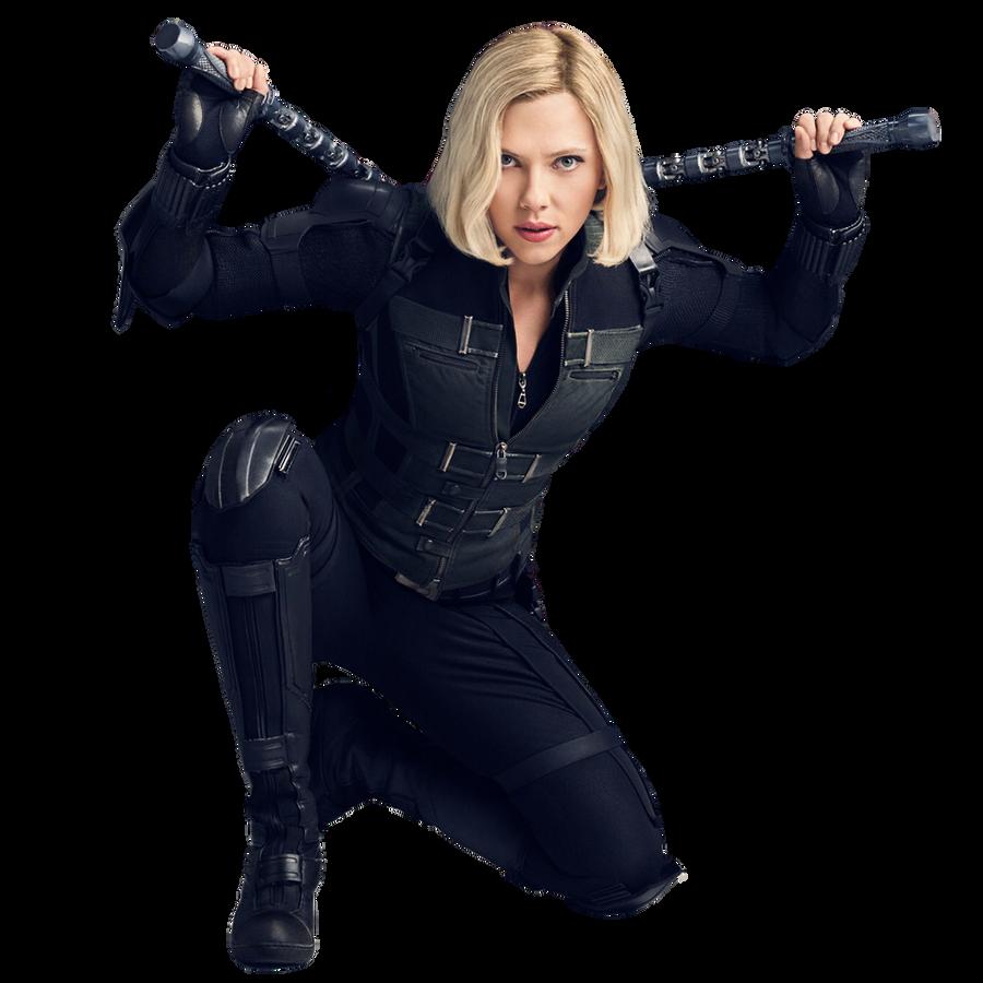 Avengers Infinity War   Black Widow png by mintmovi3 on ...