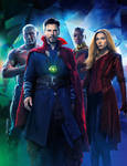 Avengers : Infinity War EMPIRE 2 of 6 textless