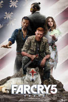 Far Cry 5 Poster Seed Family by mintmovi3