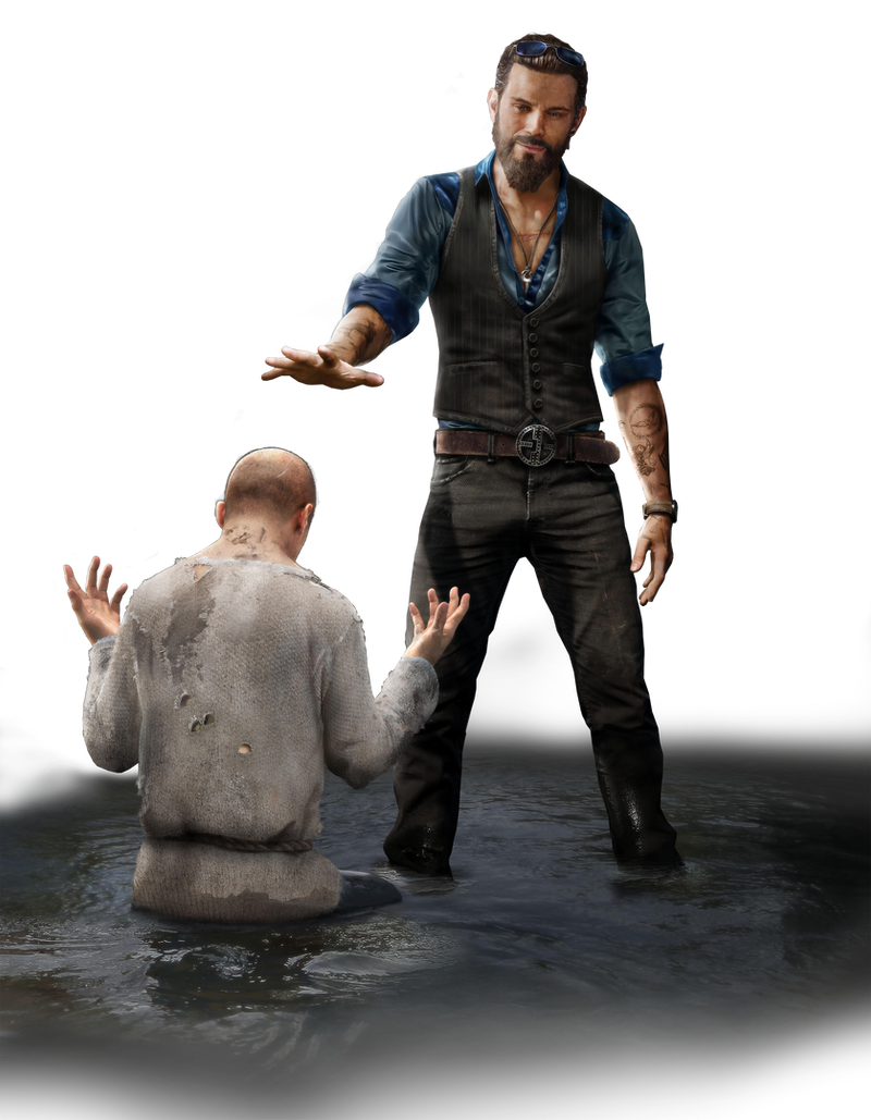 Far Cry 5 Character John Seed Png By Mintmovi3 On Deviantart