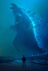 Godzilla: King of the Monsters (2019) textless by mintmovi3