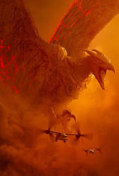Godzilla: King of the Monsters Rodan textless